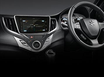 Baleno interior car features